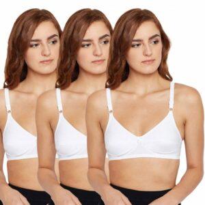Bodycare Cotton Bra For Women's 5518 PACK OF 3Pcs