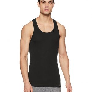 Jockey Sports Vest, 9922, Pack Of 3 Pcs In White, Black, and Grey Color