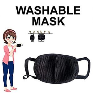FACE MASK BLACK  FOR EVERY ONE PACK OF 10Pcs