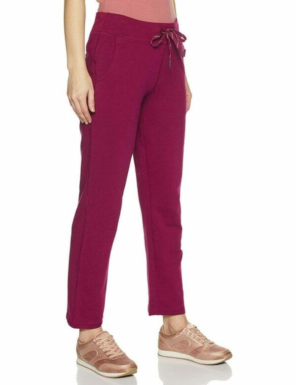 women wine lounge pants