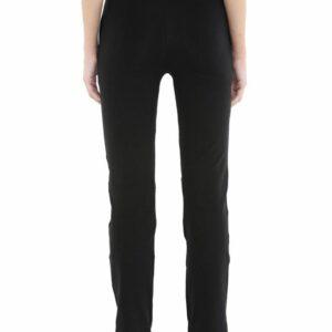 Floret Slim Fit Pants In Black Color, P-20023