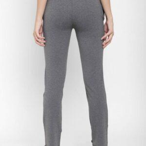 Floret Slim Fit Pants In Charcoal Grey Color, P-20023