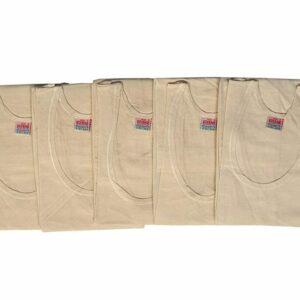 Kothari Men's Cotton Sleeveless Mercerised Vest – Pack of 6