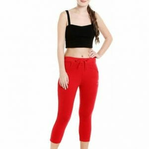 Body Active Women's Fashion Plain Capri LC-01