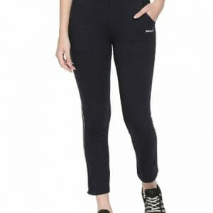 Body Active Women's Fashion Plain Black Color Lower LL 16