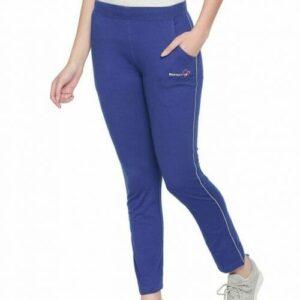 Body Active Women's Fashion Plain Royal Blue Lower LL 16