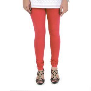 Vami Cotton Churidar Legging For Women's – Rose