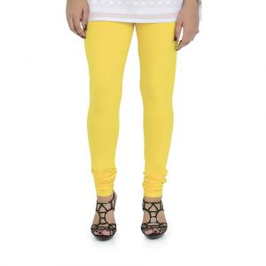 Vami Cotton Churidar Legging For Women's – Empire Yellow