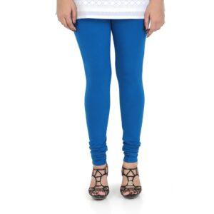 Vami Cotton Churidar Legging For Women's – Victoria Blue
