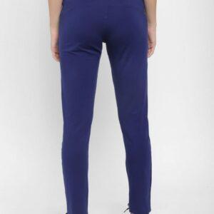 Floret Slim Fit Pants In Dark Blue Color, P-20023