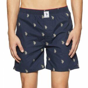 U.S.Polo Men`s Boxer Shorts I-021 Logo Print