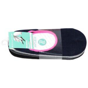 Bonjour Women`s Cotton Plain Loafar Socks Pack of 4 Pcs