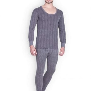 Lux Inferno Thermal Set For Men In Grey Color