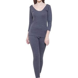 Bodycare Women's Thermal Set Top and Lower