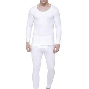 Bodycare Men's Solid Thermal Wear Set Top & Lower