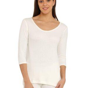 Jockey Women's Cotton Thermal Full Sleeve Top