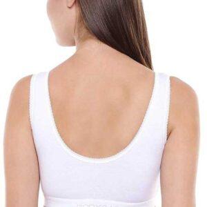 BODY CARE SPORTS BRA 1607 PACK OF 3PCS WHITE